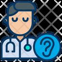 Otolaryngologist Doctor Health Care Icon