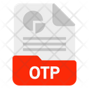 Otp File Format Icon