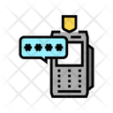 Otp Pin Code Icon