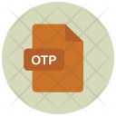 Otp File Extension Icon