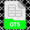 Ots file Icon