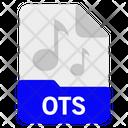 Ots File Format Icon