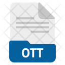 Ott file Icon