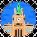 Ottawa Parliament Icon