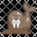 Otter Mammal Sea Creature Icon