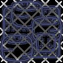 Ottoman Bag Icon