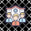 Company Staff Personnel Icon