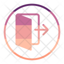 Out User Interface Icon
