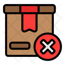 Out Of Stok Empty Stock Icon