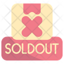 Out Stock Sold Out Sold Icon