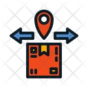 Outbound Box Parcel Icon