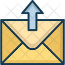 Outbox Outgoing Sent Mail Icon