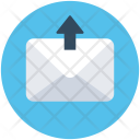 Outbox Sentbox Email Icon