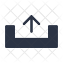 Outbox Upload Export Icon