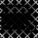 Outbox Move Down Icon
