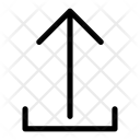 Outbox Out Upload Icon