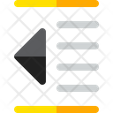 Outdent Align Format Icon