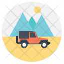 Adventure Outdoor Traveling Icon