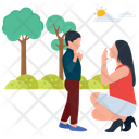 Outdoor Fun Park Activities Picnic Time Icon