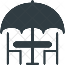 Outdoor Table Restaurant Icon