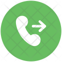 Outgoing Call Phone Icon
