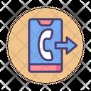 Msending Call Outgoing Call Outgoing Icon