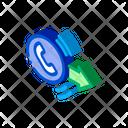 Outgoing Call Service Icon