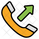 Outgoing Call Dialing Phone Call Icon
