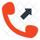 Outgoing Call Telecommunication Phone Call Icon