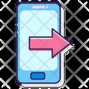 Outgoing Calling Icon