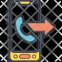 Moutgoing Outgoing Calling Outgoing Call Icon