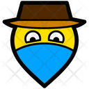 Outlaw Bandit Hat Icon