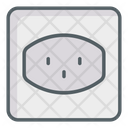 Outlet Power Strip Socket Icon
