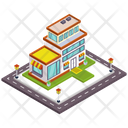 Outlet Outlet Building Store Icon