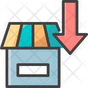 Outlet Down Icon