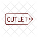 Outlet Store Shop Icon