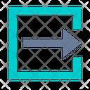 Output Logout Exit Icon