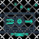 Outputs Analog Arrow Icon