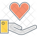 Outreach Care Caring Icon
