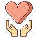 Outreach Community Helping Hand Icon
