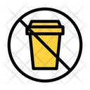 Notallowed Cup Plastic Icon