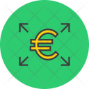 Outward Cash Flow Icon