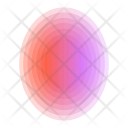Oval Bubble Abstract Icon