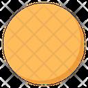 Oval Ellipse Round Icon