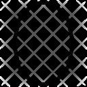 Frame Oval Shape Icon