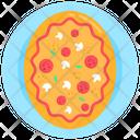 Italian Food Junk Food Pizza Icon