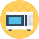 Oven Microwave Kitchen Icon