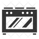 Oven Microwave Stove Icon