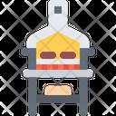 Oven Grill Barbecue Icon