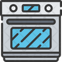 Oven Cook Baked Icon